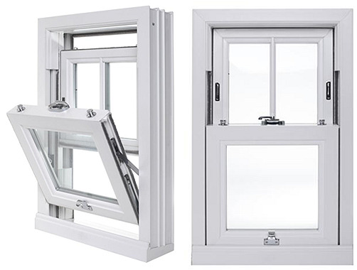 double tilt sash window