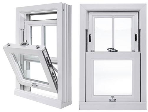 double tilt sash window