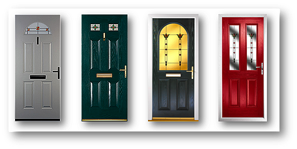 half. full galss composite doors