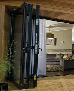 Sliding uPVC Bifold Doors